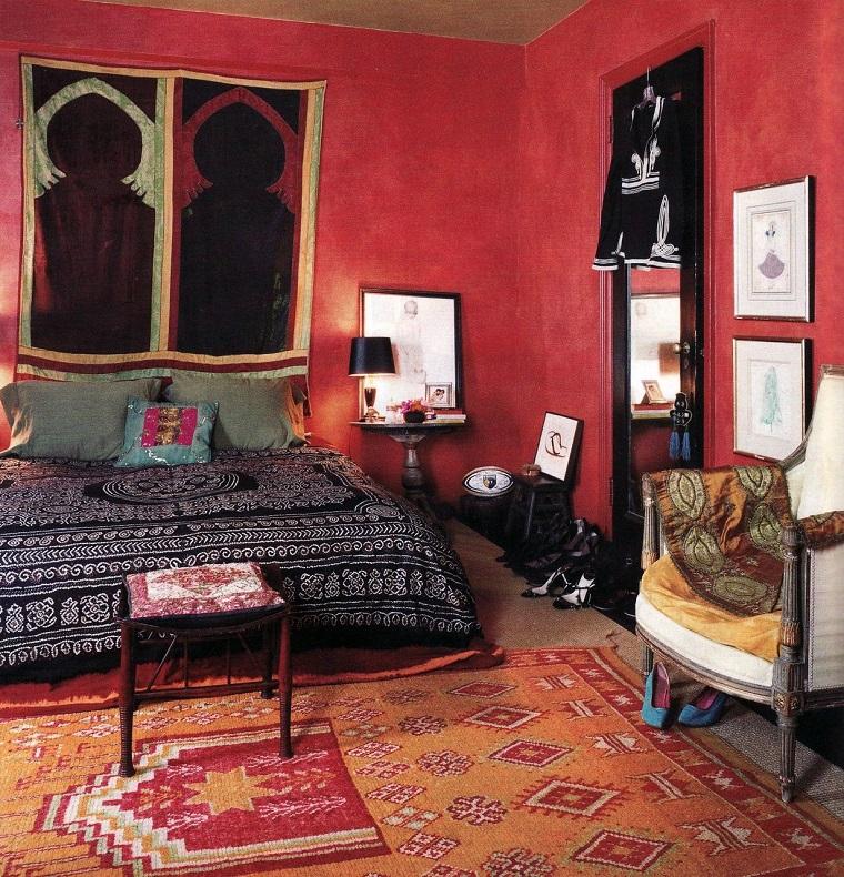 moda hippie soluzione camera letto
