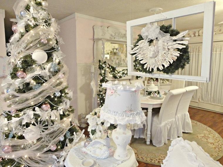 Shabby Chic Natale : Natale shabby chic tante idee e decorazione in questo stile