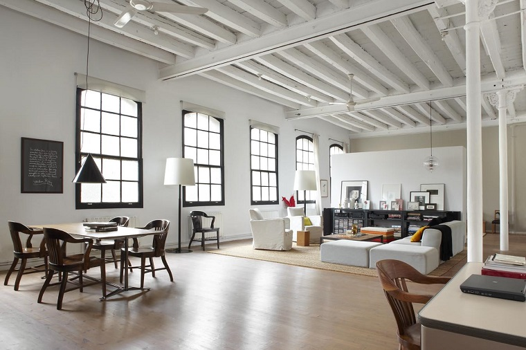 open space moderno stile loft