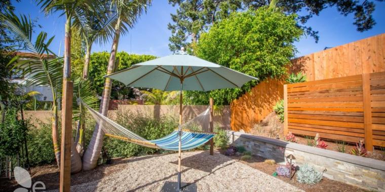 paesaggi idea fresca vivace particolare giardino verde