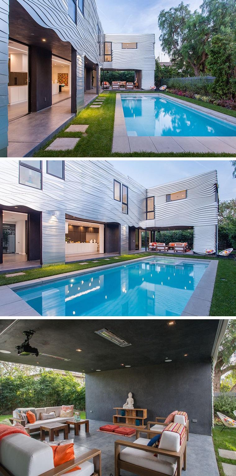 paesaggi idea sogno giardino piscina