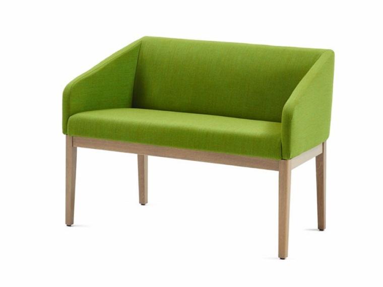pantone verde divanetto linea squadrata