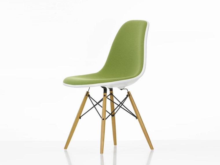 pantone verde sedia design particolare
