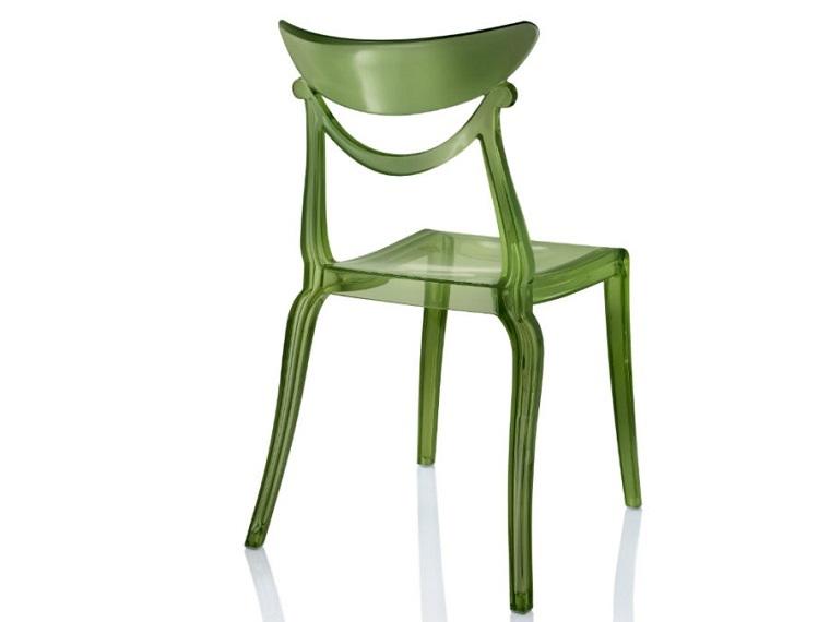 pantone verde sedia forma retro