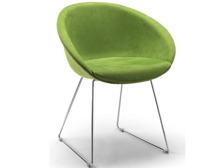 pantone verde sedia linee morbide