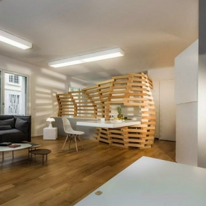 1001 idee per colori da abbinare al grigio consigli utili - Parete divisoria in legno per interni ...