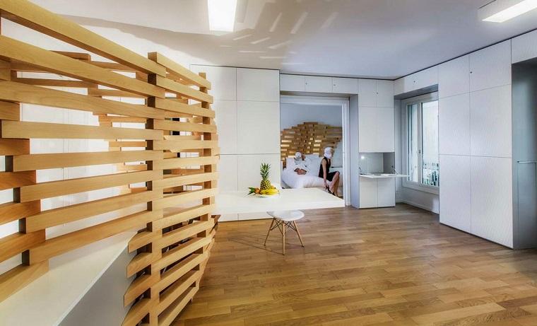 Parete divisoria in legno soluzione d 39 avanguardia per la casa - Parete divisoria casa ...
