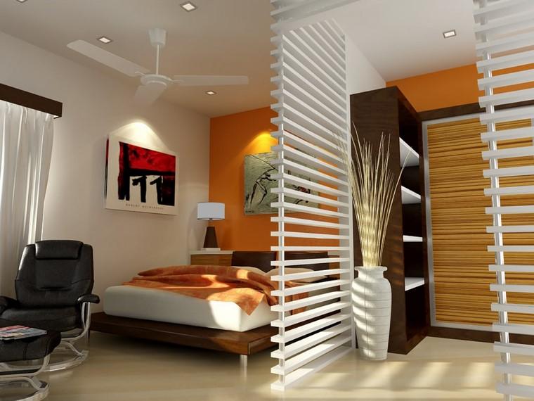parete divisoria in legno soluzione camera letto