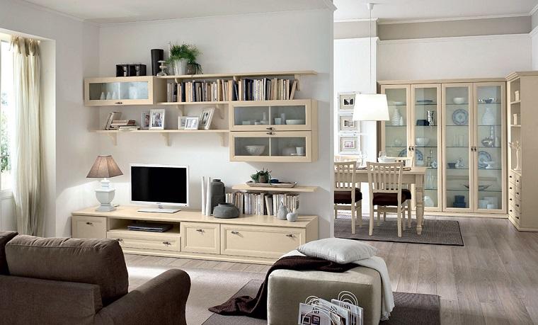 pareti attrezzate classiche idee per un complemento d