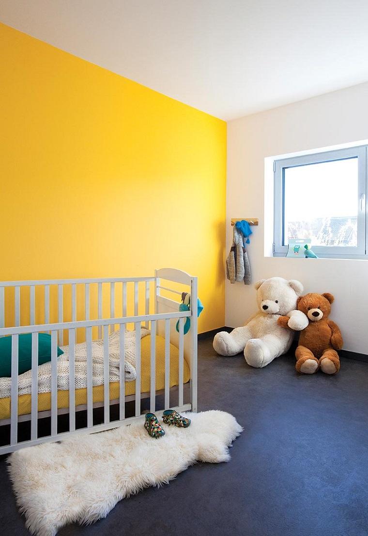 Colori Da Parete Per Camerette colori pareti camerette: tonalità, idee e accostamenti di