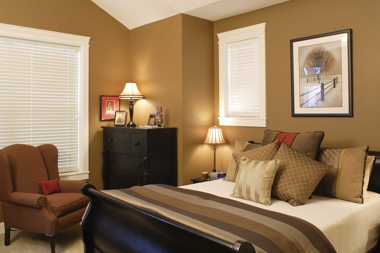 pareti colorate idea camera tono luminoso