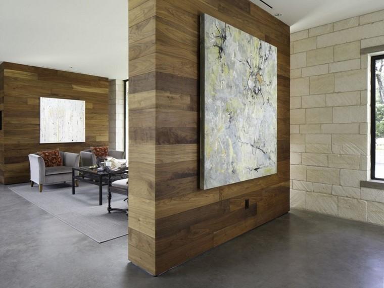 pareti divisorie proposta legno