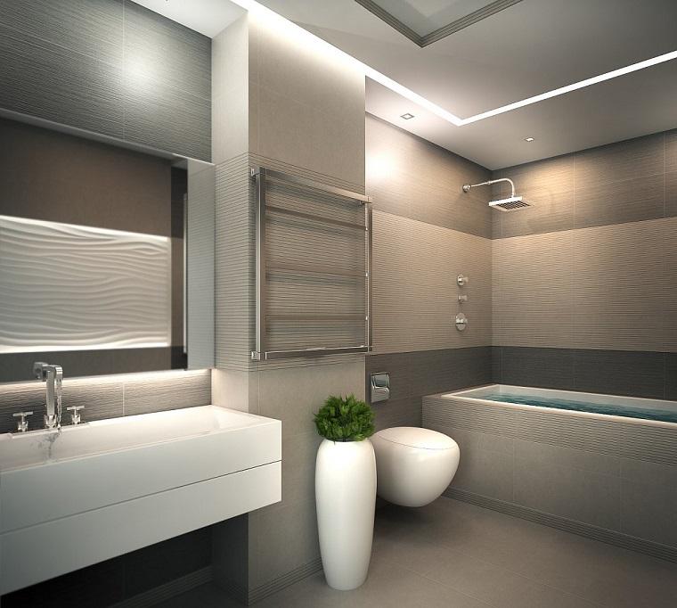 Bagno moderno 100 idee e soluzioni di design per un for Arredo bagno design