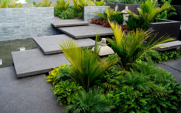 proposta semplice particolare originale giardino verde