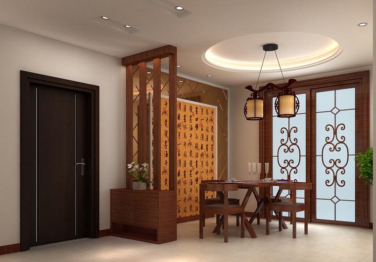 Parete divisoria in legno soluzione d 39 avanguardia per la for Parete sala