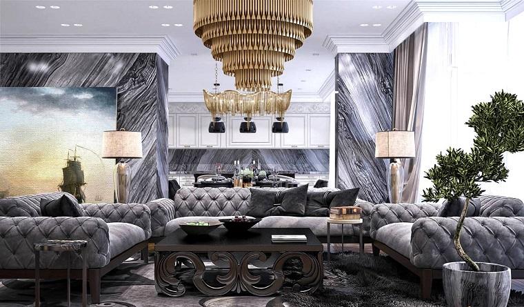 salotto classico arredo mobili lusso design