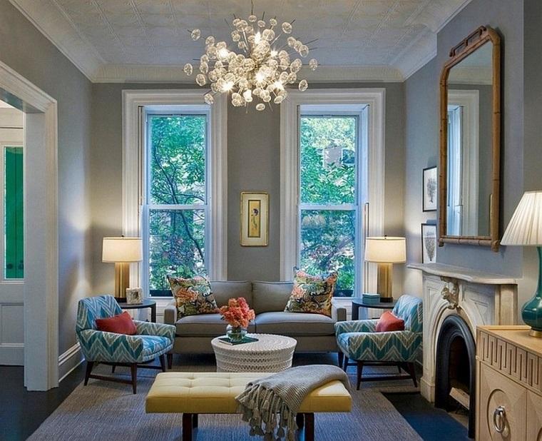 soggiorno classico tonalita fresche