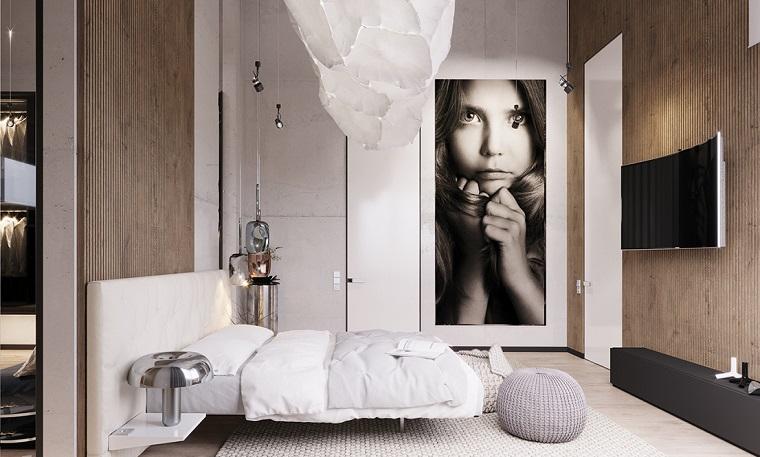 stanza da letto elegante raffinata