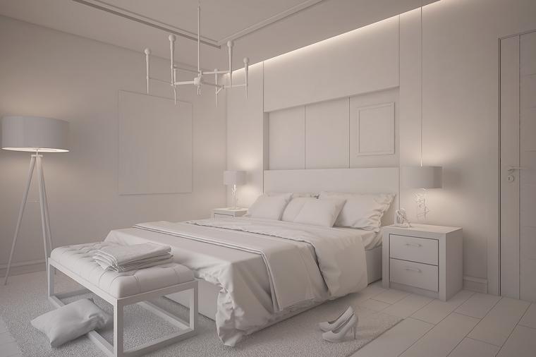 Stanza da letto 12 modi arredare la zona notte con un for Stanza da letto moderna