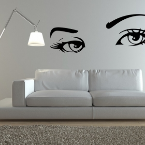 1001 idee per colori da abbinare al grigio consigli utili - Stencil per pareti ikea ...