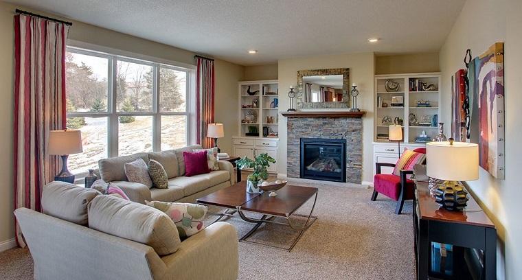Mobili stile contemporaneo per l 39 arredo del soggiorno for Arredare zona living