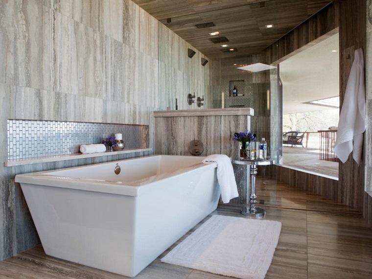 stile contemporaneo arredo bagno