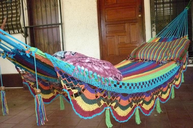 stile hippie comoda colorata amaca