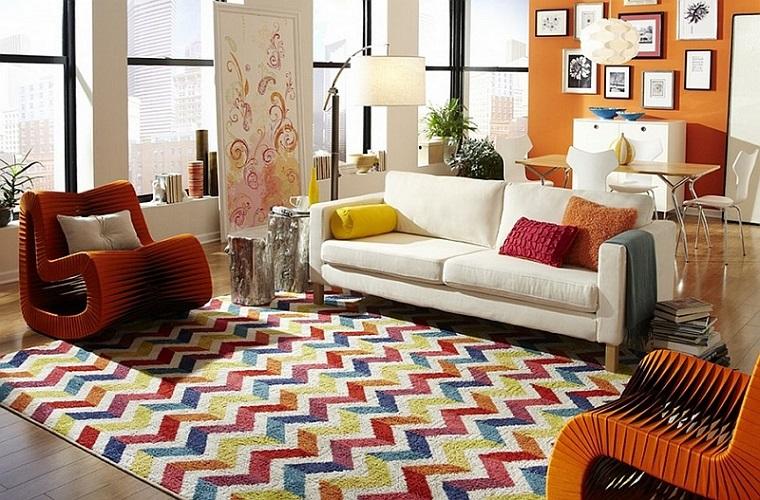 stile hippie salotto poltrone design