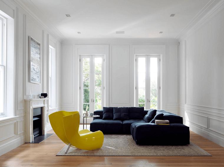 Stile minimal ecco come arredare la casa in modo for Divano minimal