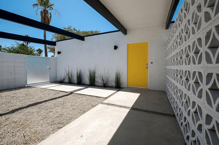 stile minimalista soluzione giardino