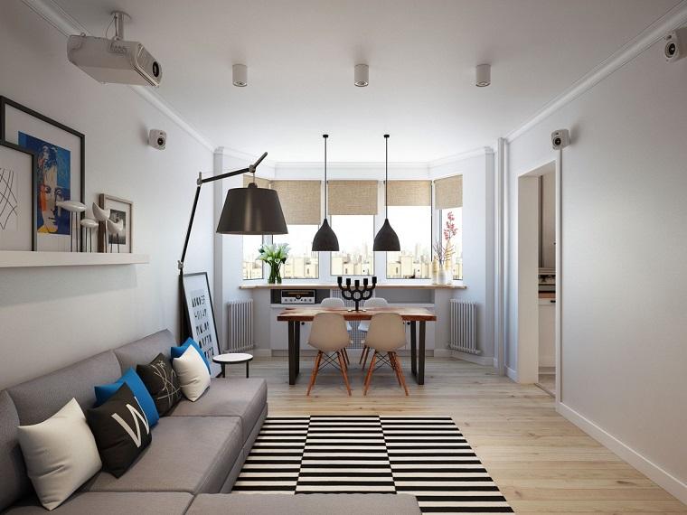 Camere Da Letto Nordiche : Stile nordico: 24 atmosfere suggestive per il living e la camera da