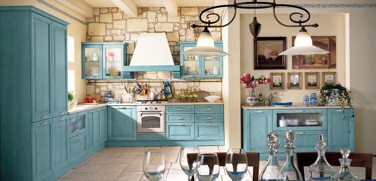 stile provenzale-cucina-azzurro-pastello