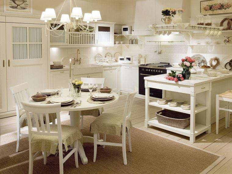 stile provenzale-cucina-mobili-bianchi