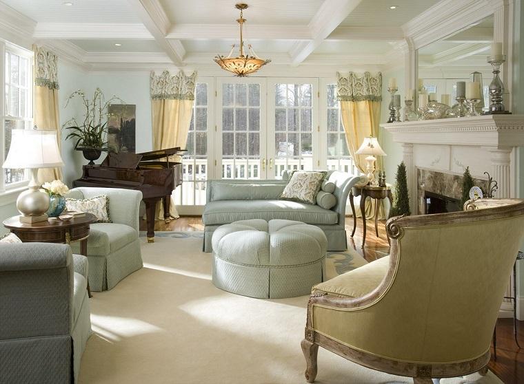 stile provenzale-salotto-elementi-eleganti