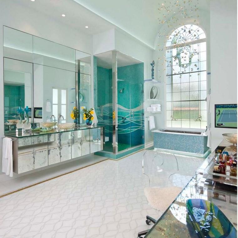 suggerimento originale moderno bagno mosaico favola