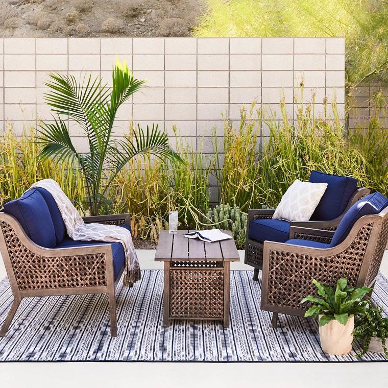 suggerimento particolare arredare vostro giardino moderno