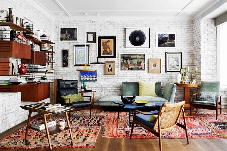 Come arredare un salotto belli funzionali ideali per for Arredamento stile eclettico