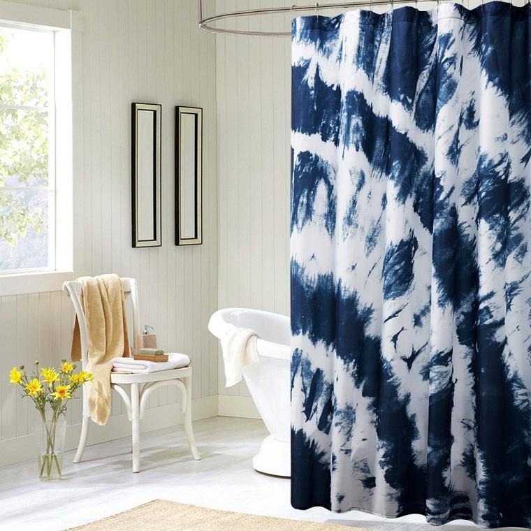 Tende per bagno: 24 idee originali fra il classico e il moderno ...