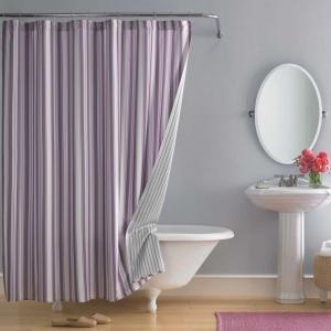 Bagno piccolo moderno 10 idee salvaspazio di design - Tende per bagno classico ...