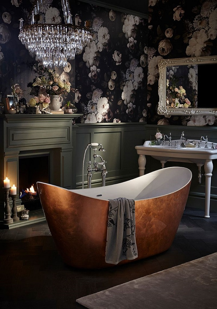 vasca bagno freestanding ambiente elegante raffinato