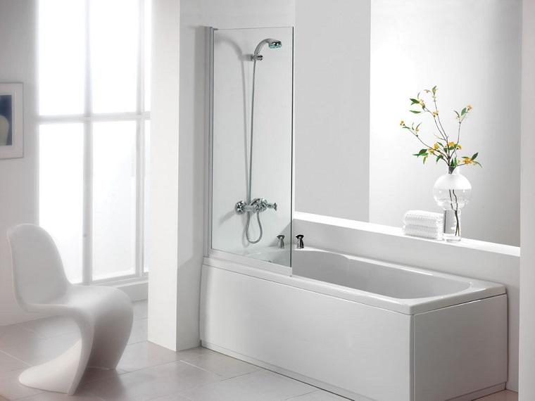 vasca con doccia soluzione classica