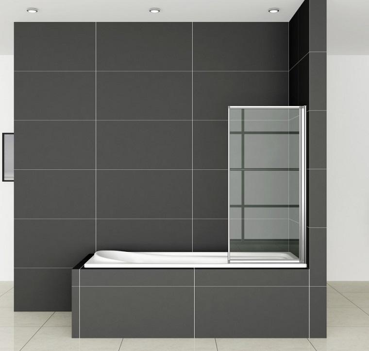 vasca da bagno con doccia design ultra moderno