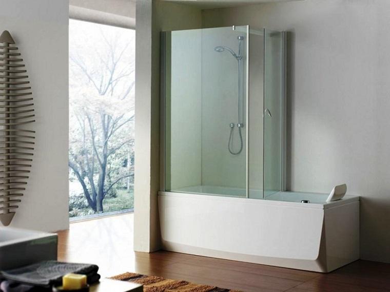 Vasca con doccia: 24 suggerimenti di ultima generazione ...