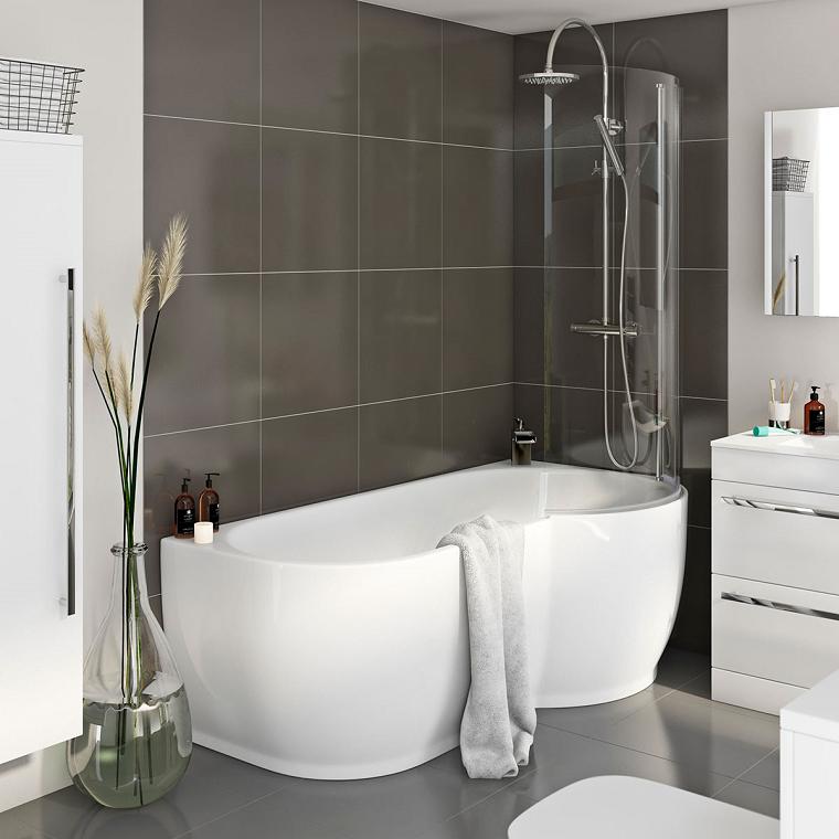 vasche da bagno con doccia design
