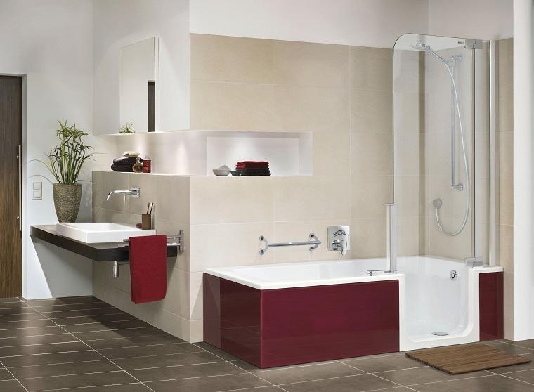 vasche da bagno con doccia proposta design