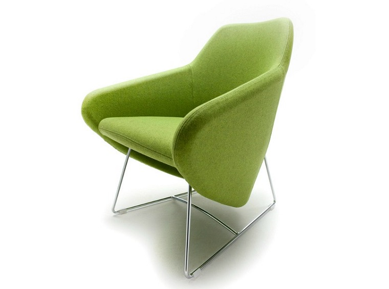verde pantone poltrona design originale