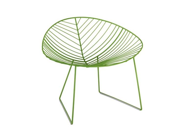 verde pantone sedia design esterno