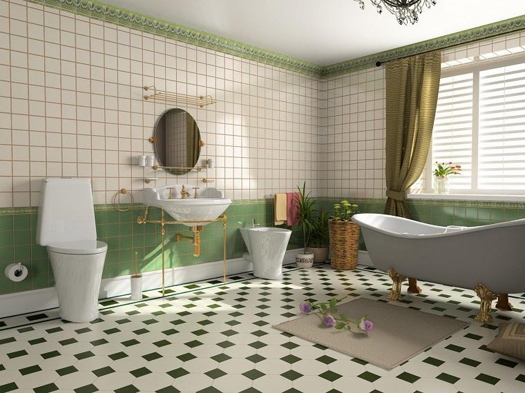 Bagni vintage: 20 idee di arredamento per creare un angolo retrò ...