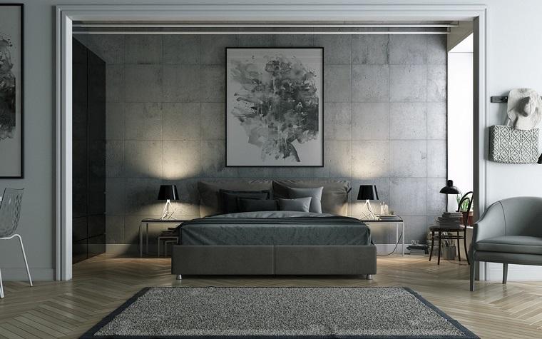 Camera da letto grigia ideale per chi ama lo stile for Arredamento camera da letto design