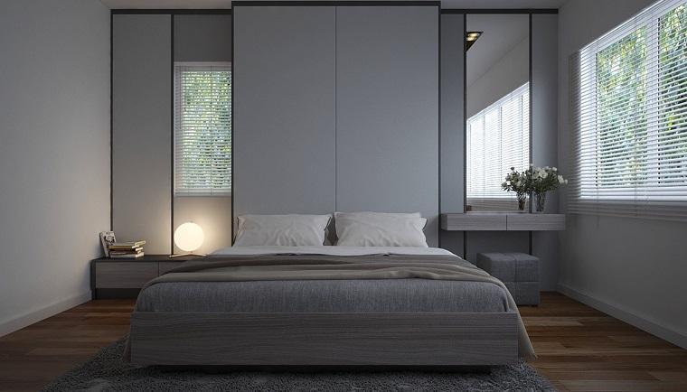 Arredamento Camera Da Letto Stili : Camera da letto grigia ideale per chi ama lo stile